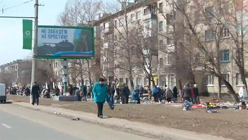 Оккупированный Луганск превращается на барахолку (видео) - фото