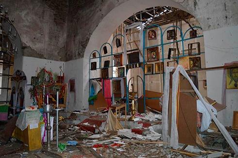 Православный храм не пережил поборников «православного мира» - фото