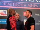 Чемпион WBA Лебедев и претендент Каленга прошли процедуру взвешивания