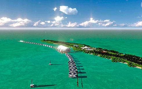 Ди Каприо строит на своем острове эко-курорт - фото
