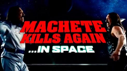 Мачете будет убивать и в космосе - фото