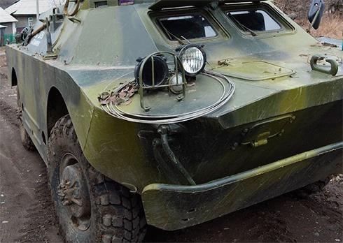 На Луганщине подорвалась БРДМ, погибли двое военных - фото
