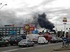 На Петровке произошел пожар