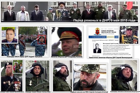 Ряженые на параде т.н. «ДНР» - одни преступники - дороги назад им нет - фото