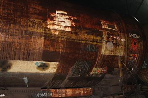 СБУ задержала диверсанта, который 9 мая хотел взорвать поезд с нефтепродуктами - фото
