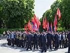 В киевском Парке Славы не обошлось без провокаторов [фото]