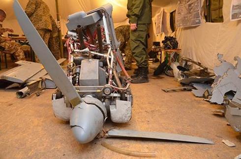 В зоне АТО сбили военный беспилотник российского производства «Форпост» - фото