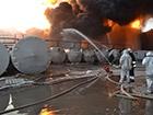 На пожаре в Глевахе взорвались еще две емкости