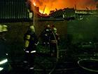 На улице Круглой сгорел частный дом