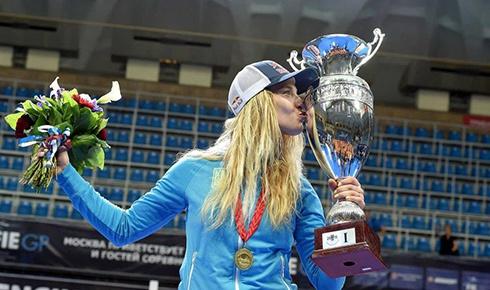 Ольга Харлан в Москве завоевала золотую медаль - фото