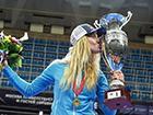 Ольга Харлан в Москве завоевала золотую медаль