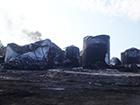 Пожар нефтебазы в Глевахе: Продолжает гореть резервуар объемом 900 кубометров