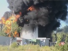 В Глевахе пожарные остановили огонь в направлении военной части и нефтебазы КЛО
