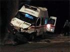 В Мариуполе в аварию попала «скорая» с ранеными военными