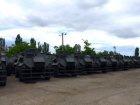 В Украину прибыли 55 бронемашин Saxon