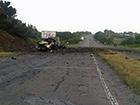 Возобновлено движение на участке дороги, где взорвался грузовик с боеприпасами