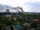 80 пожарных тушили горящий Научно-исследовательский институт Харькова