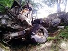 На Закарпатье перевернулся грузовик с людьми, есть жертвы