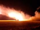 Ночью боевики активно били из крупнокалиберного оружия
