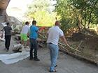 Под Московским мостом снесли забор, который отгораживал Десенку