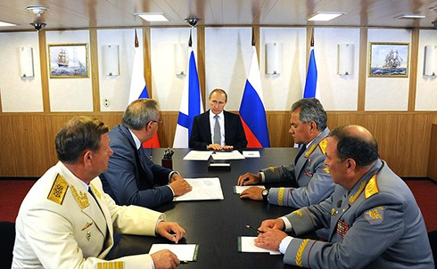 Путин утвердил новую Морскую доктрину - фото
