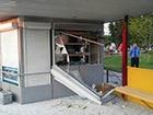 В Броварах произошел взрыв в киоске, погиб человек
