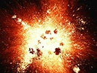 В Харькове ночью слышали взрывы, милиция нашла воронку глубиной 20 см