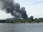 В Москве произошел масштабный пожар на заводе ЗИЛ