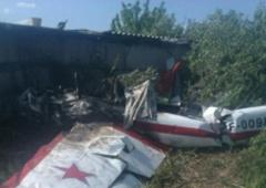 В Самарской области упал Як-52, погибли два человека - фото