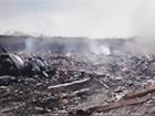 Видео первых минут после падения малазийского авиалайнера