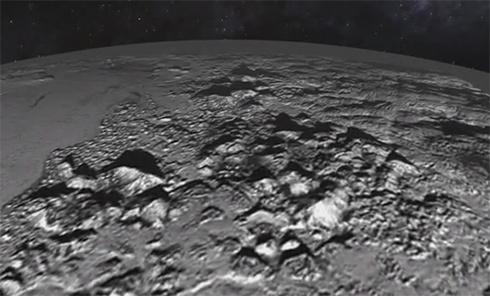 Видео поверхности Плутона - фото