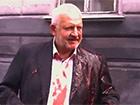 Во Львове облили свиной кровью депутата из Оппозиционного блока [видео]