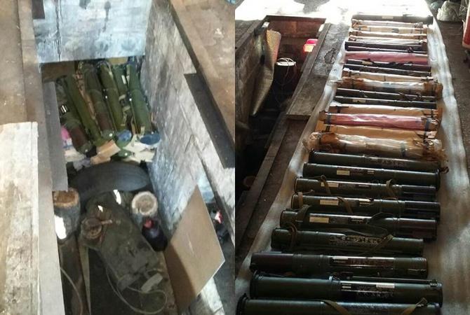 На Донетчине депутат горсовета хранил у себя 65 гранатометов - фото