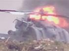 На Рязанщине разбился военный вертолет