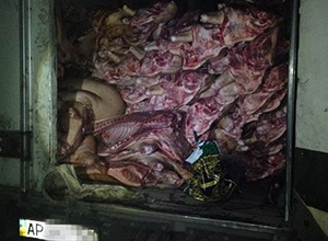 Оккупантам Донбасса не довезли мяса на 600 тыс грн - фото