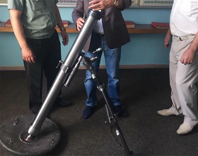 Создан 82-мм миномет «Верба» - фото