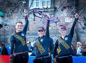 Украинские лучницы стали чемпионами мира - фото