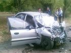 На Днепропетровщине на дороге в лобовом столкновении погибли три человека
