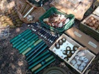 На Донбассе СБУ нашла большой арсенал оружия и боеприпасов