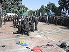По подозрению в беспорядках задержаны 18 человек, других отпустили, - Шкиряк