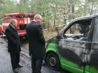 Под Черниговом погибли трое инкассаторов и сгорел их автомобиль [фото]