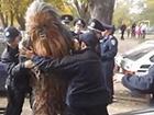 В Одессе полиция скрутила Чубакку