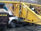В Омске упал башенный кран, погибли четыре человека