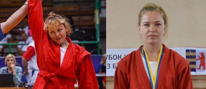 Две украинки стали чемпионками мира по самбо - фото