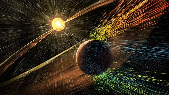 NASA показала как на Марсе исчезла атмосфера [видео] - фото