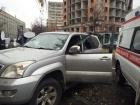 В Киеве совершено разбойное нападение на автомобиль со стрельбой