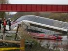 Во Франции потерпел крушение поезд, есть погибшие