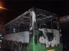 Женщина бросила зажигательную смесь в пассажирский автобус, утверждает его водитель