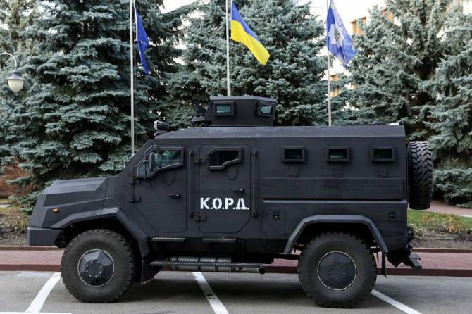 Бронемашины «Варта-2» получат Нацгвардия и спецназовцы полиции - фото