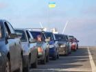 На въезде в Крым образовались очереди